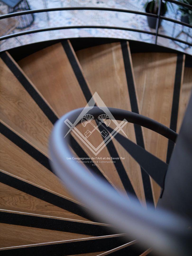 Fabrication de main courante en acier, inox et bois à Marly, Metz, Nancy, Thionville